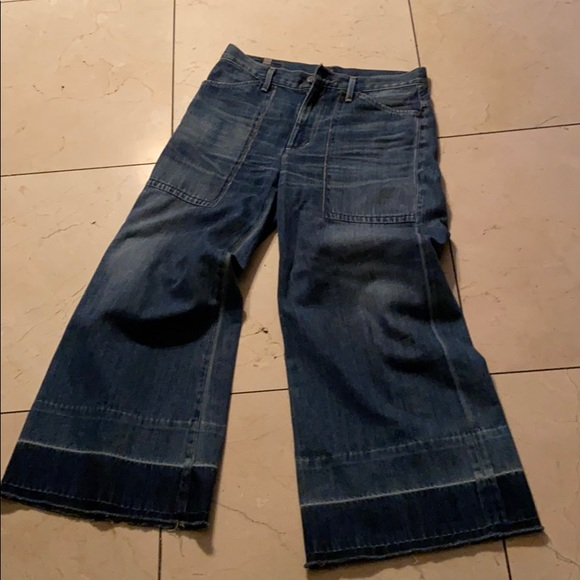 Citizens Of Humanity Denim - Citizens of Humanity wide leg cropped jeans 👖 27
